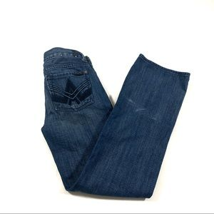 7 for All Mankind Kids A-Pocket Jeans Sz 8